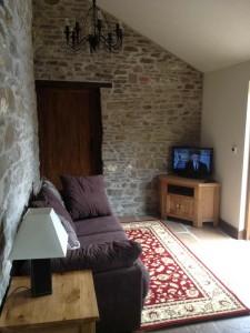 Latimer Living Room Forest of Dean Lodges